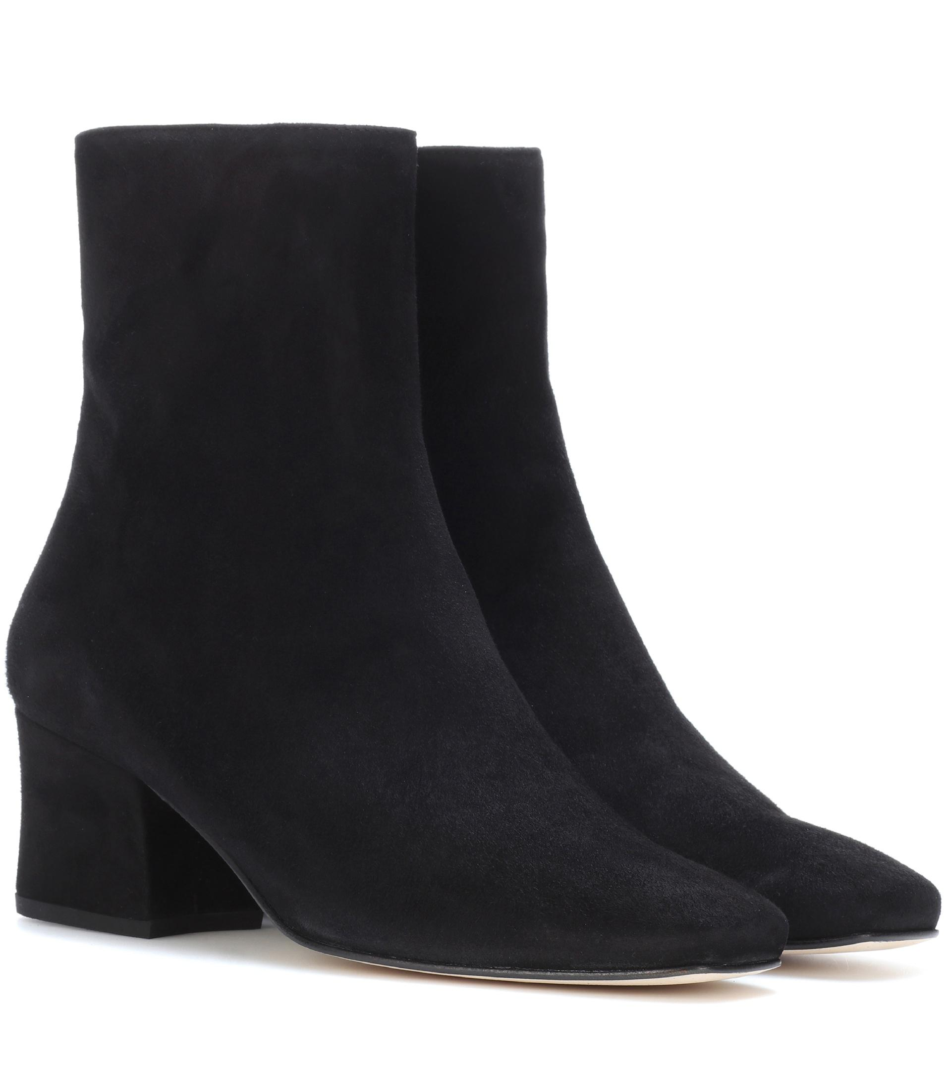 Discount In China Clearance New Arrival DORATEYMUR Sybil Leek suede ankle boots Big Sale Online f9HQEKn