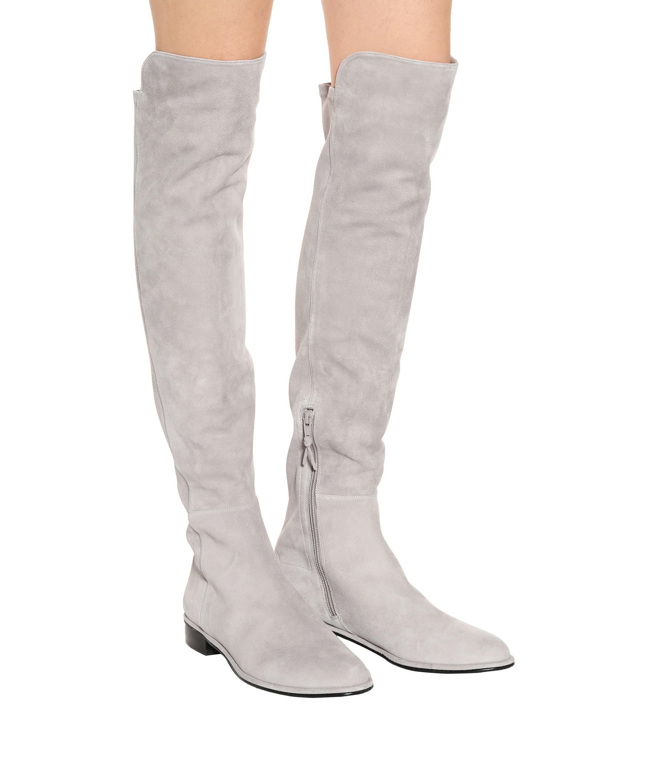 508a2d960f5 Lyst stuart weitzman allgood skimmer over the knee boots in gray jpg  2176x2460 Stuart weitzman allgood