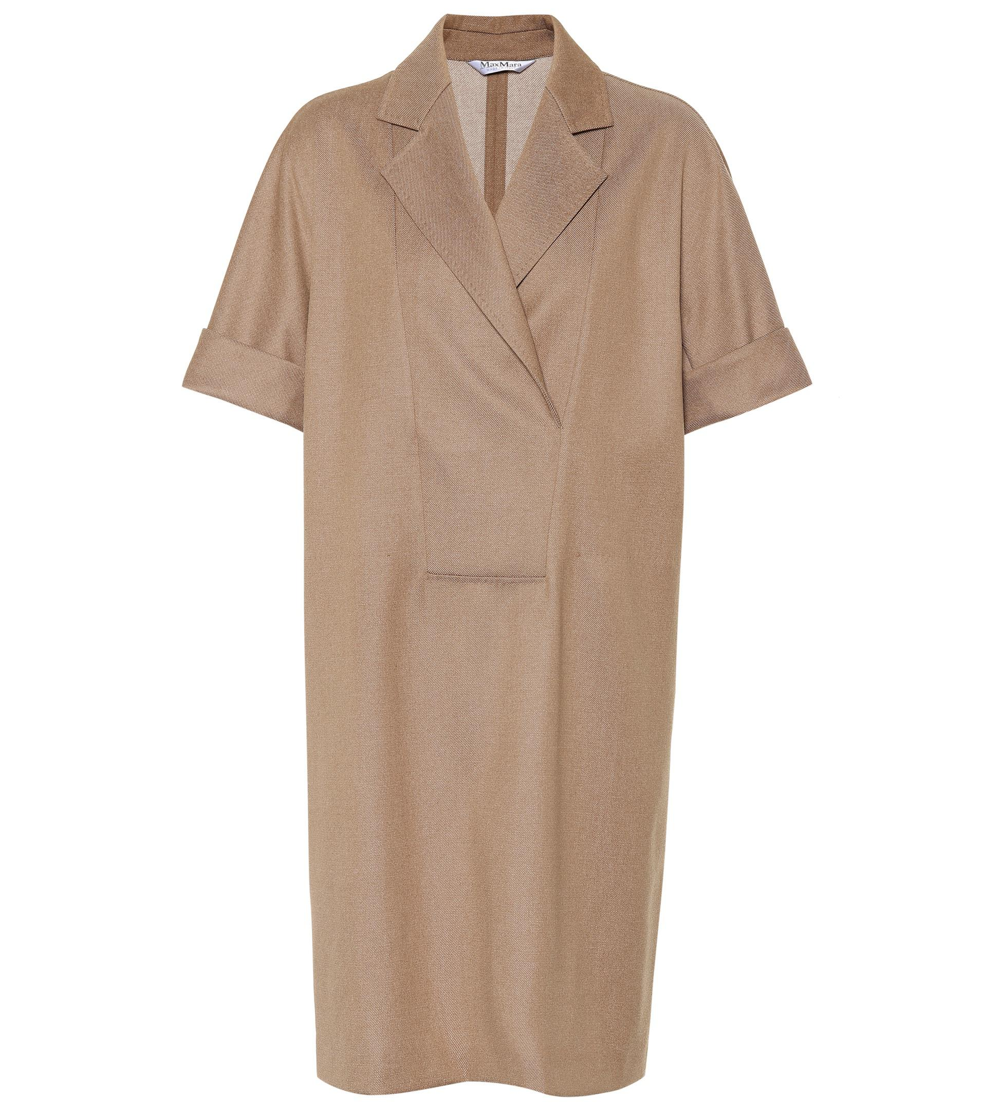 Fano wool twill dress Max Mara CBOzZq