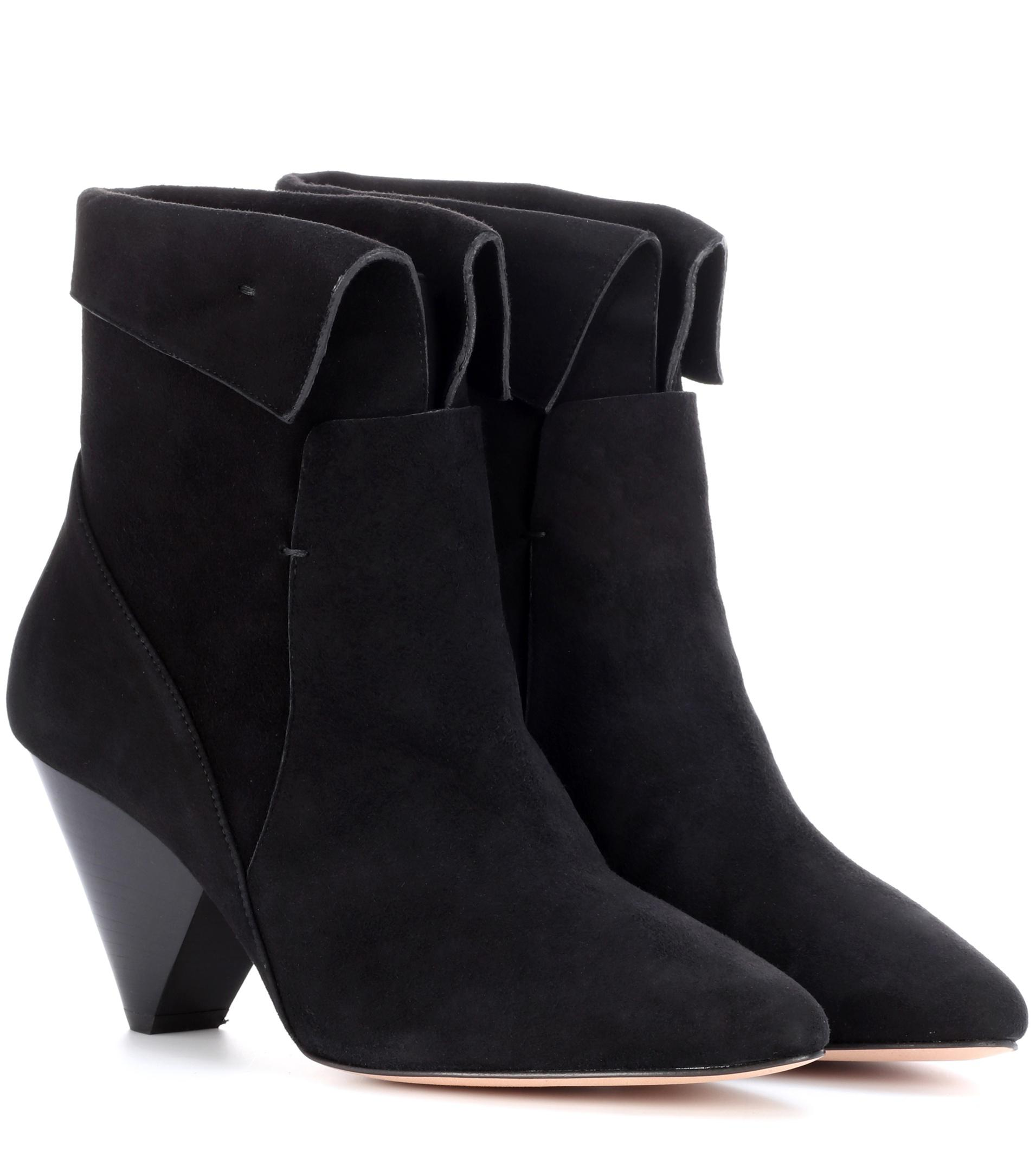 Veronica Beard Suede Mid-Calf Boots amazon for sale for sale cheap real cheap official site pre order sale online mzqtyFuVY6
