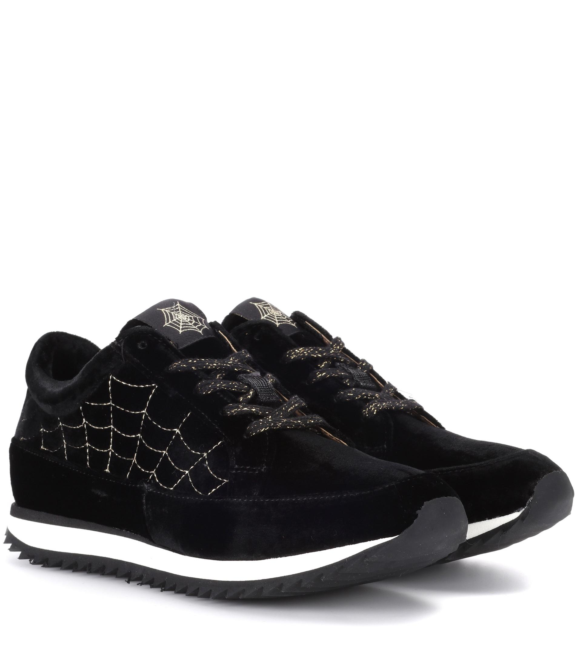 Charlotte Olympia Work It Dragon velvet sneakers Buy Cheap Visit New Really Sale Online Buy Cheap Exclusive Sale Best Store To Get With Mastercard Cheap Price g5WEKvoZd