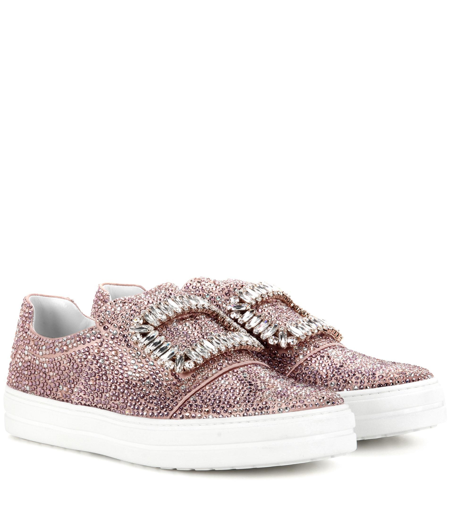 Roger Vivier Sneaky Viv' slip-on sneakers