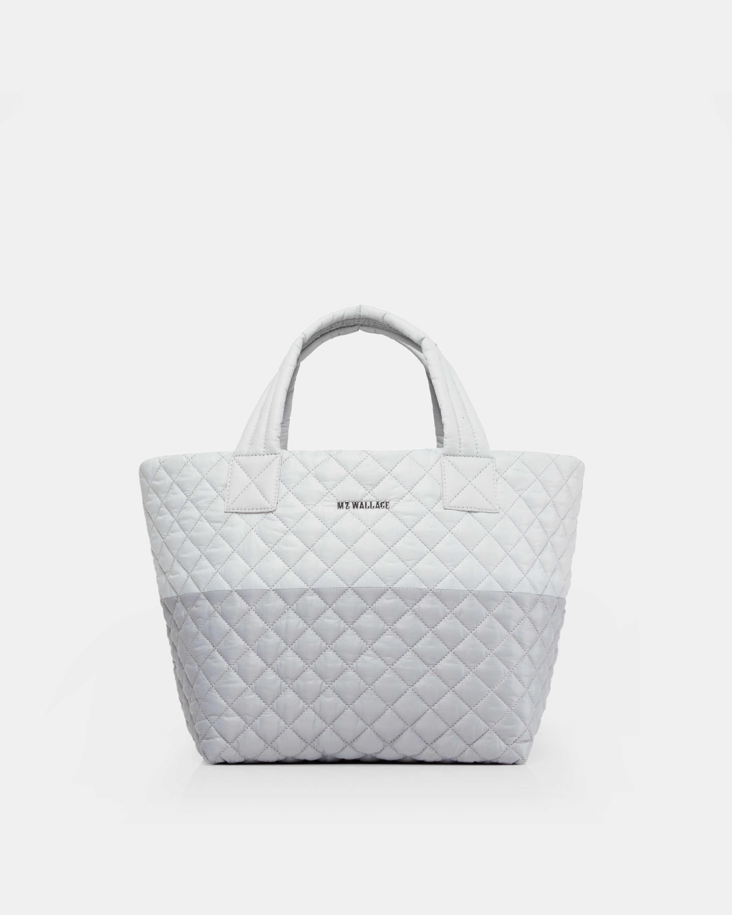 f796a6396007 Lyst Mz Wallace Quilted Overcast And Mist Colorblock Small Metro
