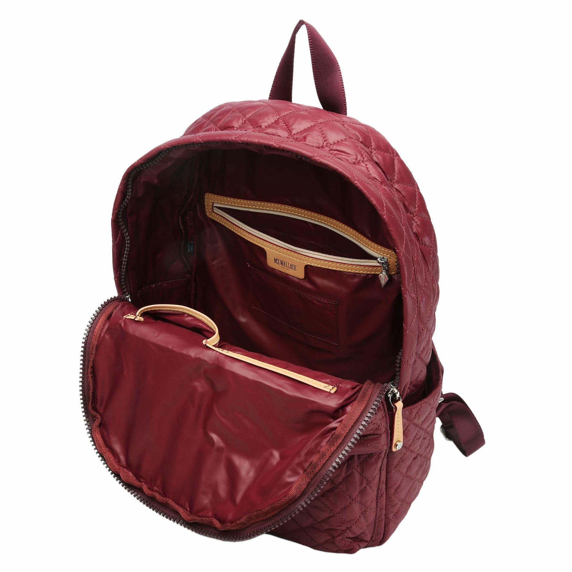 Lyst Mz Wallace Metro Backpack In Red