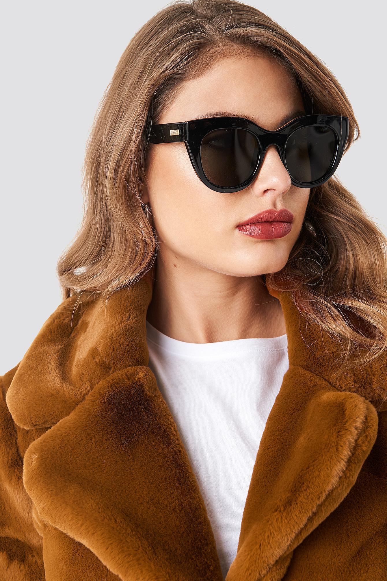 0571fb596e8 Le Specs Air Heart Black gold in Black - Save 24% - Lyst