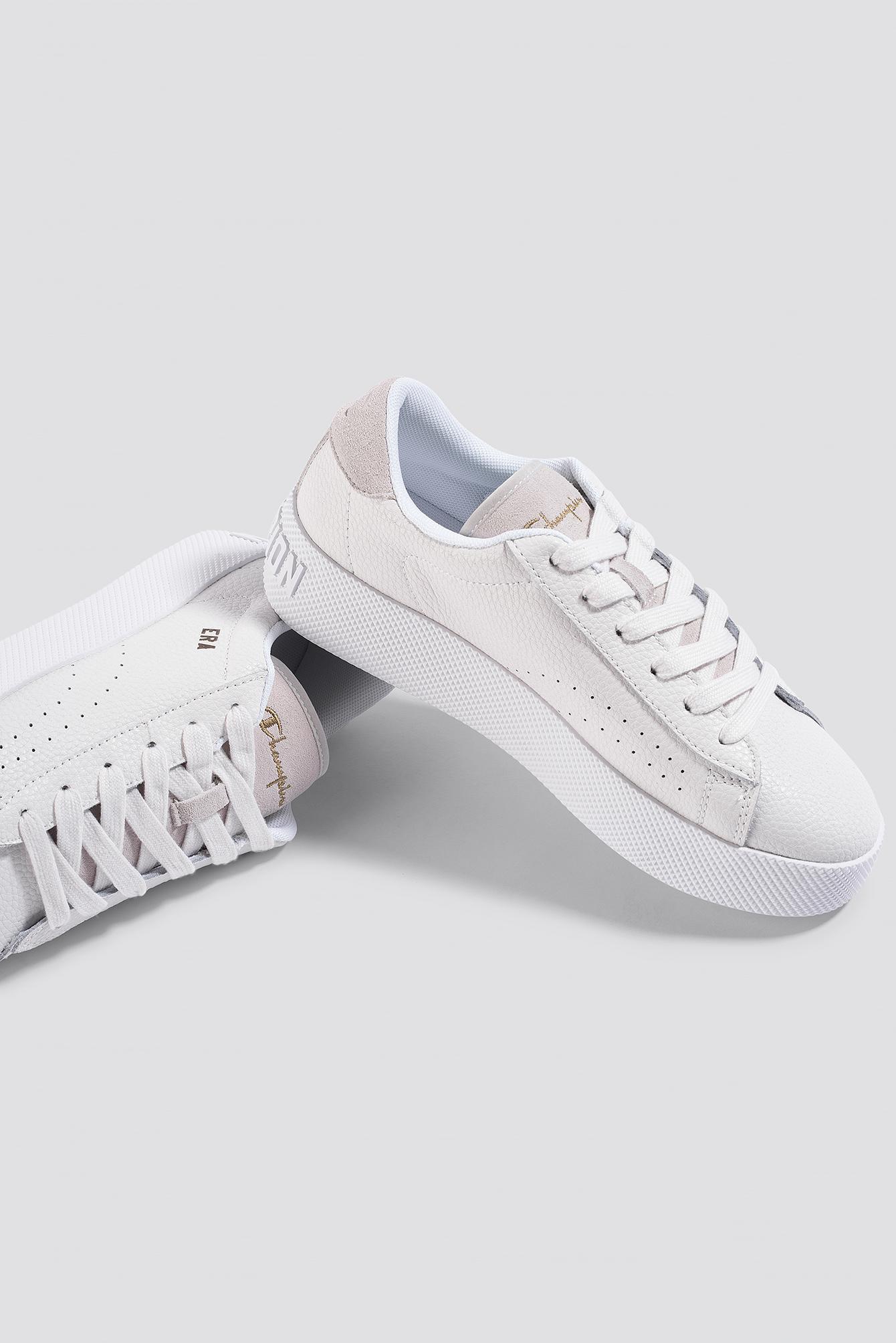 469fd90720b Lyst - Champion Era Leather Sneaker S10535 White in White