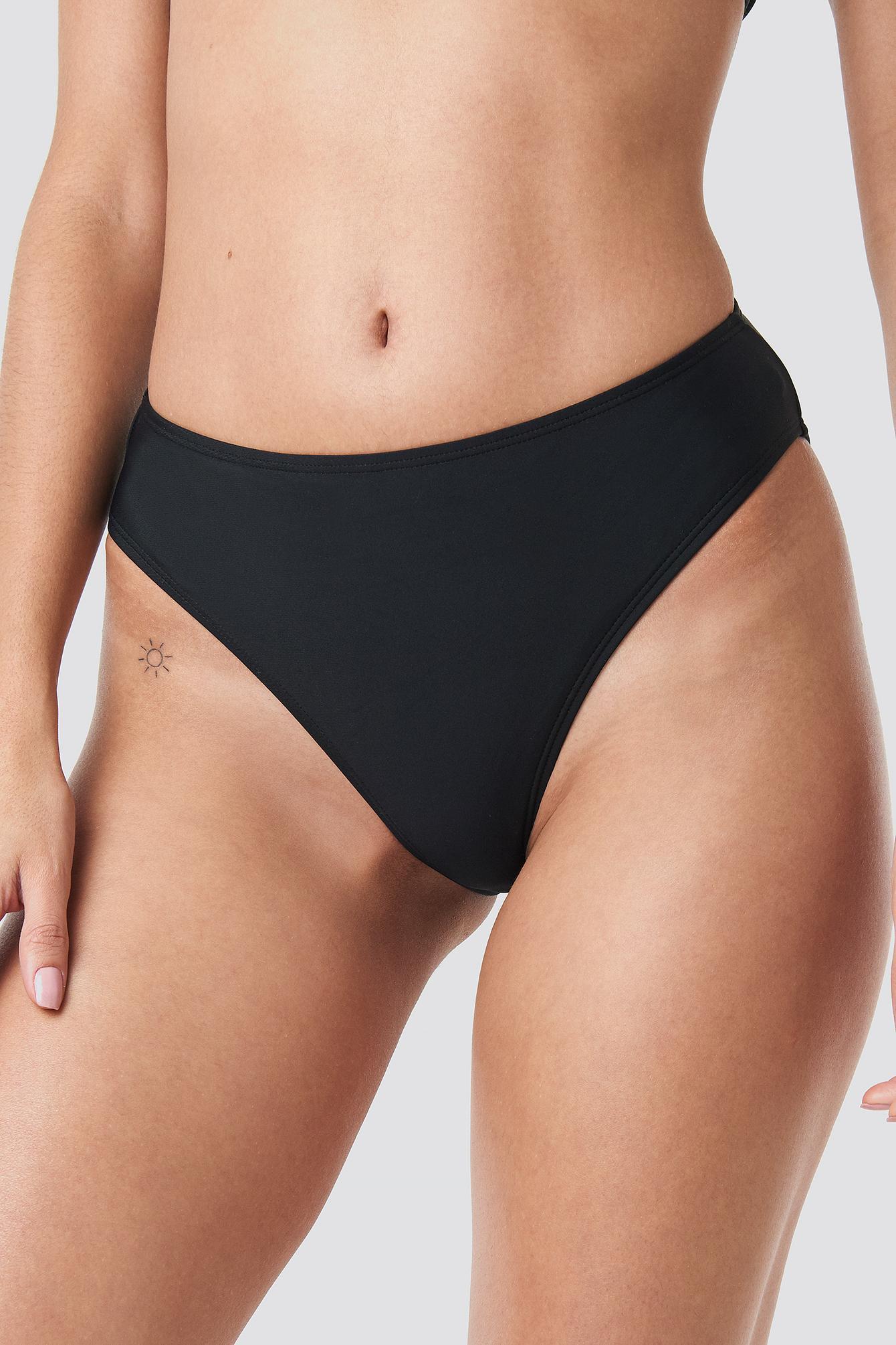 2fb99d0e568 ... High Waist Bikini Panty Black - Lyst. View fullscreen