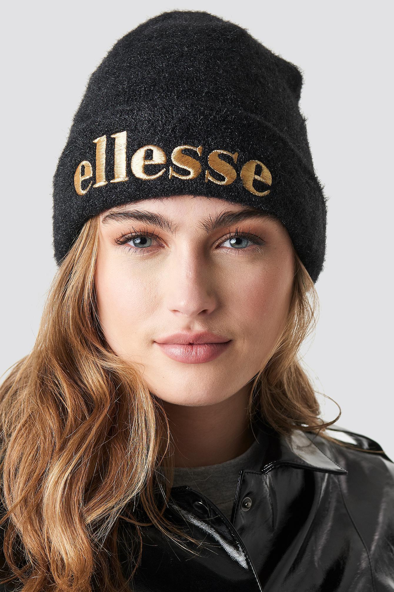 8e22e1a71b23f Lyst - Ellesse El Lexi Hat Black in Black