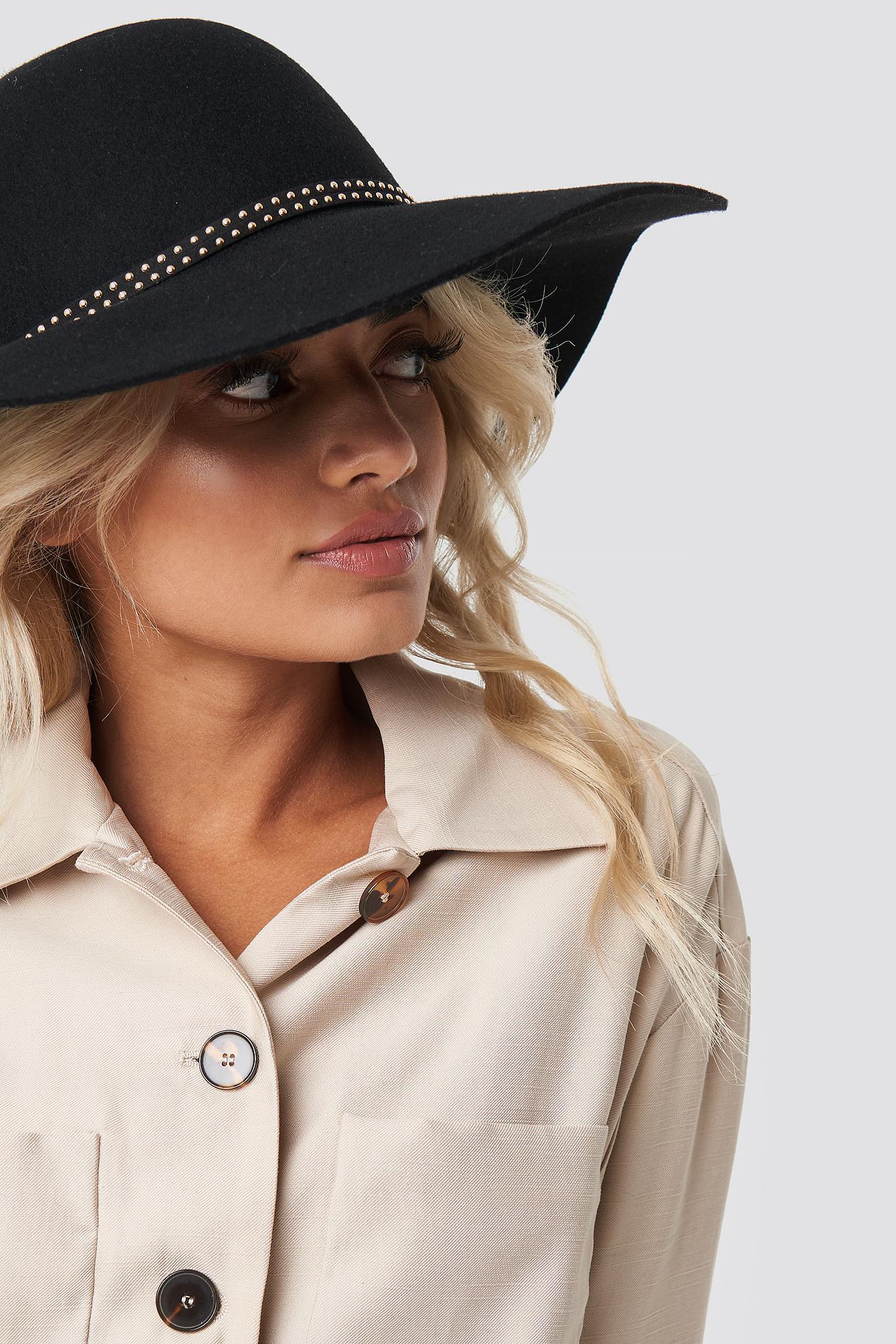 cf51e160d826c NA-KD Hanadi Diab Hat Black in Black - Lyst