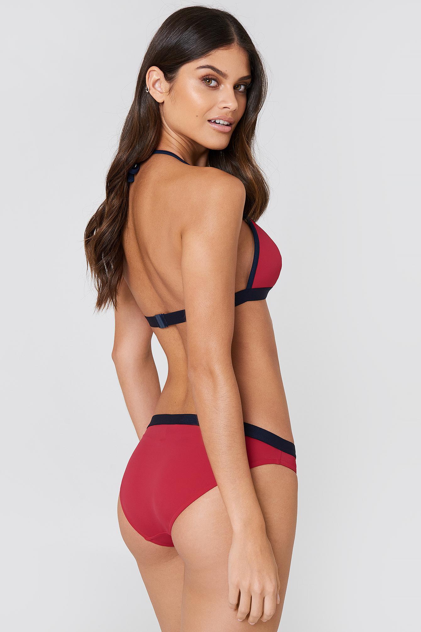 f92f312bad Tommy Hilfiger Bikini Bottom Tango Red in Red - Lyst