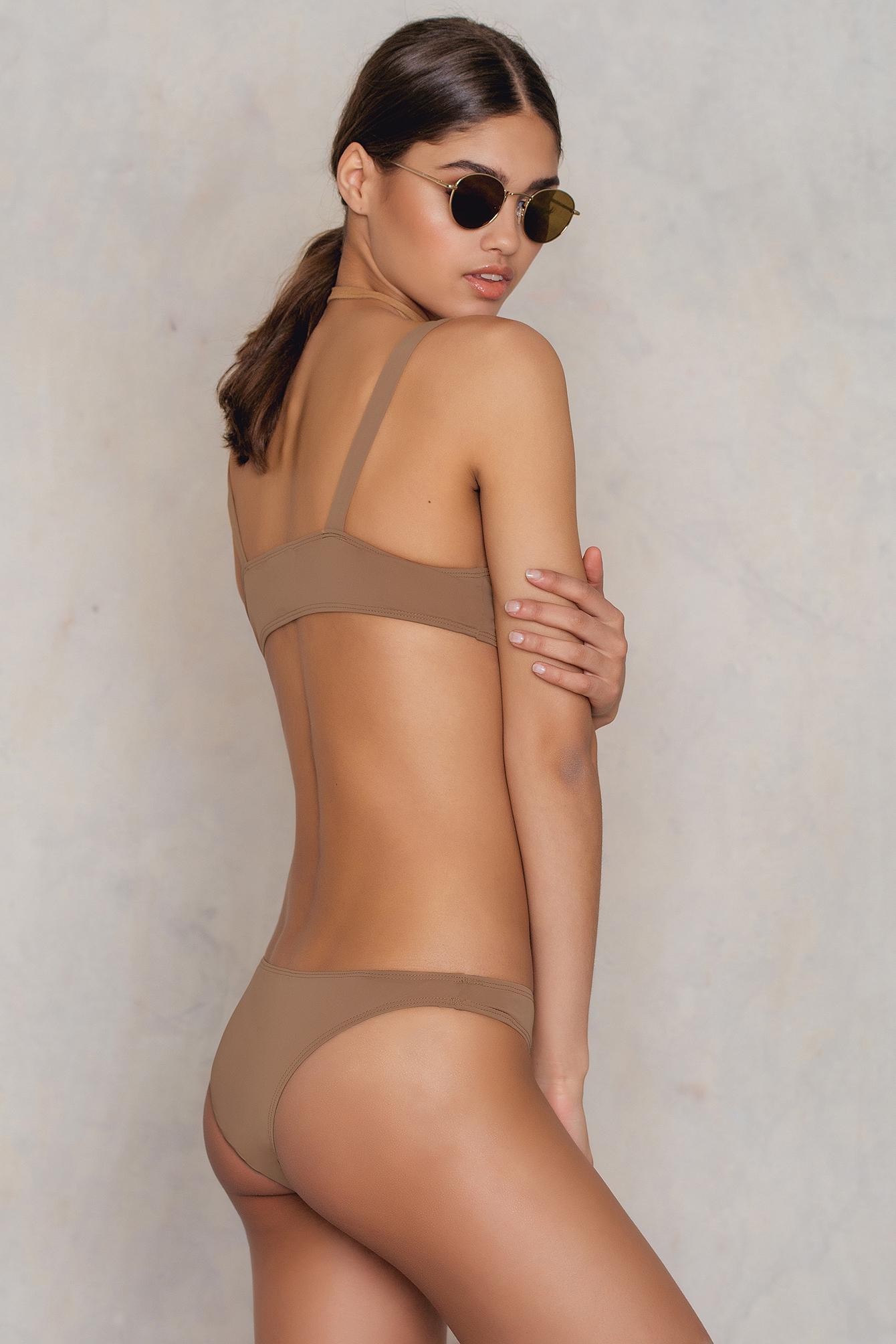 lyst - lioness anjelica houston bikini in brown