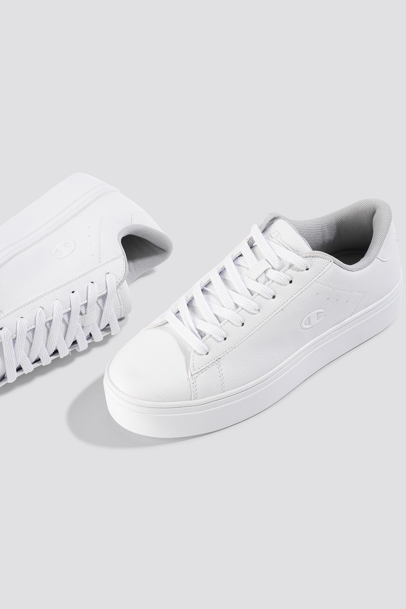 0fb46e424 Lyst - Champion Alex Platform Sneakers White in White
