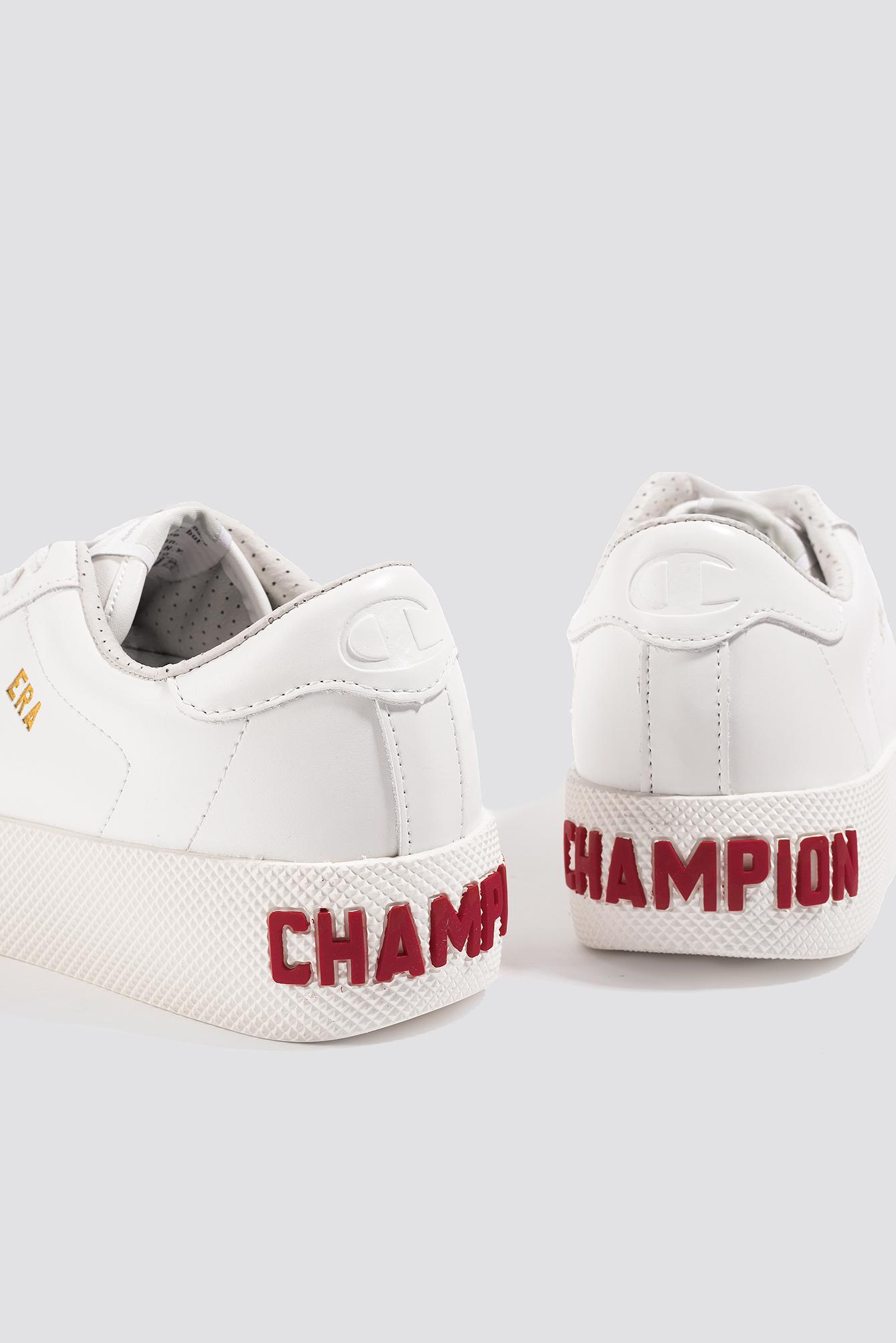 c351d1f55f3 Lyst - Champion Era Leather Sneaker in White