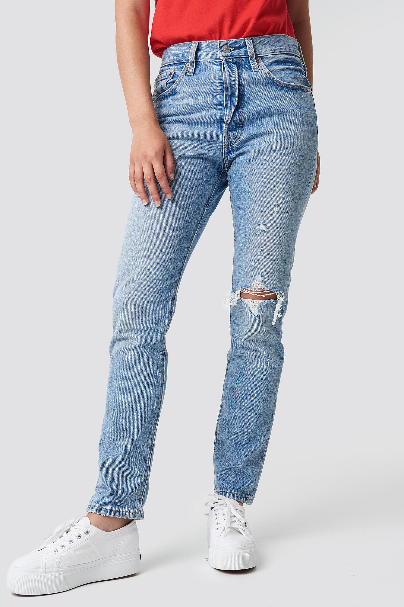 10159158ce11 Levi's - Blue 501 Skinny Jeans Can't Touch This - Lyst. View fullscreen