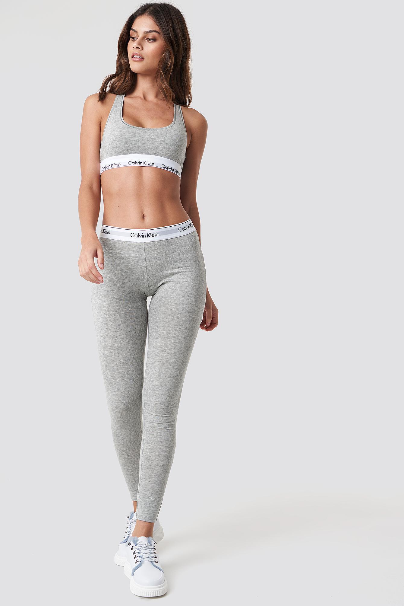 c61ee35a25 Calvin Klein - Gray Pyjama Pant Modern Cotton Grey Heather - Lyst. View  fullscreen