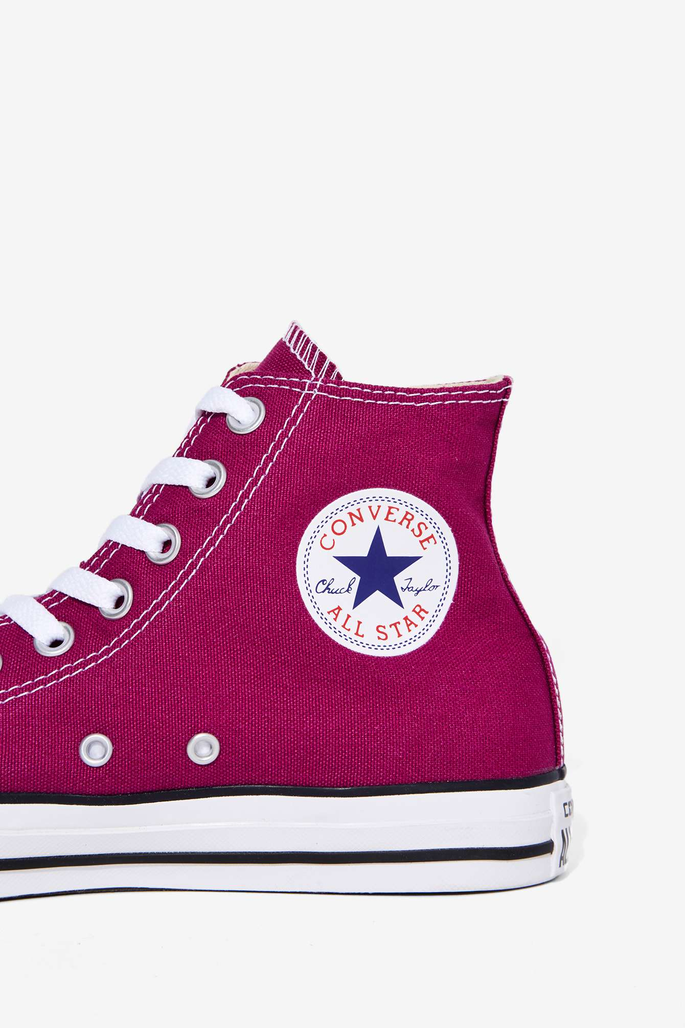 Converse Shoes Pink Sapphire