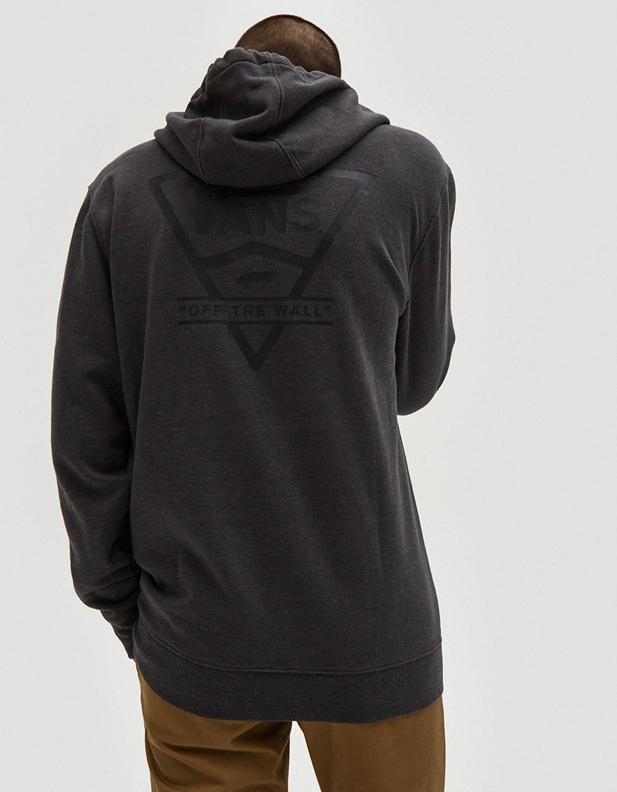 029aeb439cfb1d Lyst - Vans Classic Side Stripe Hoodie in Black for Men