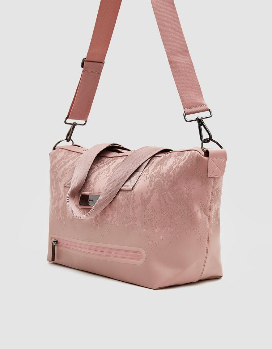 Lyst - adidas By Stella McCartney Small Studio Bag in Pink 37f5343a772f3