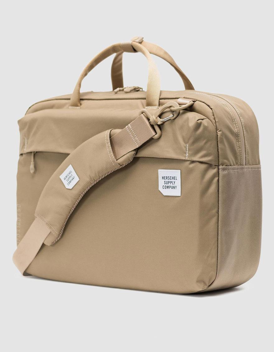 fdee443701 Lyst - Herschel Supply Co. Britannia Messenger Bag in Natural for Men
