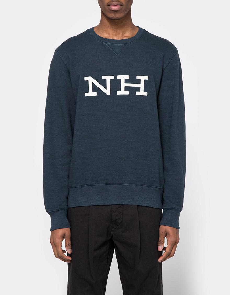 Neighborhood Jersey Nh Crew in Blue for Men | Lyst