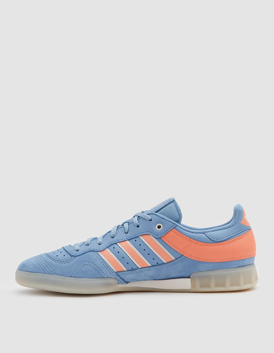 the latest 5a4f2 e70cc adidas Handball Top Oyster Sneaker in Blue for Men - Lyst