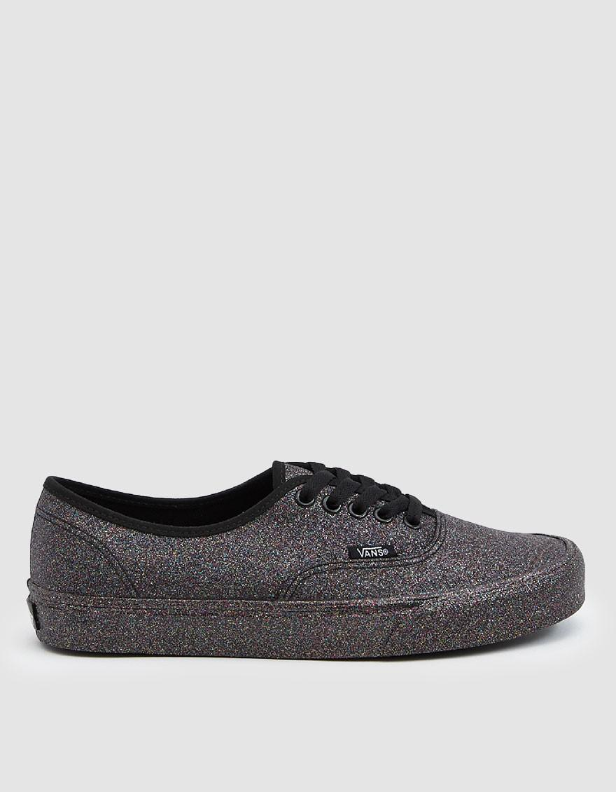 Vans Rainbow Glitter Authentic Sneaker in Black - Save 23% - Lyst a21c46ccd