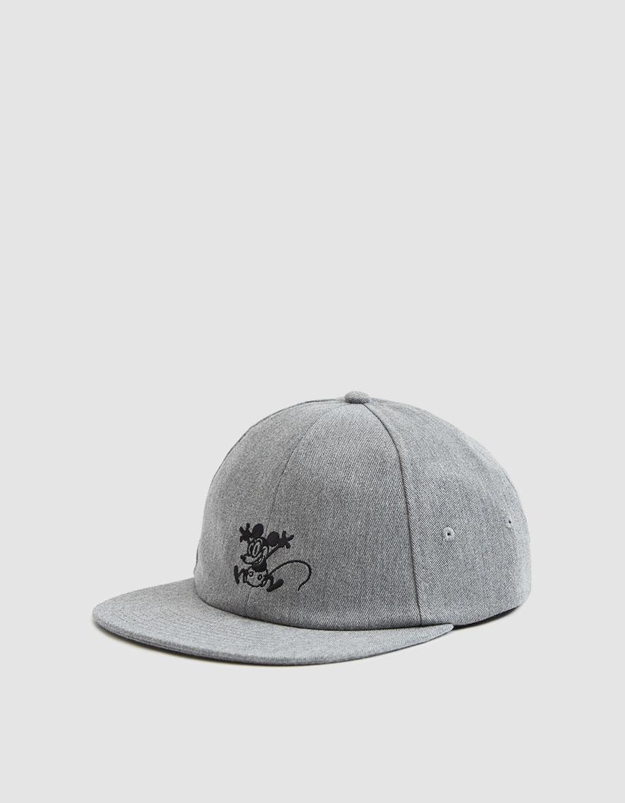 13a126d0141b1 Vans Mickey s 90th Jockey Hat (mickey Through The Ages) Caps in Gray ...