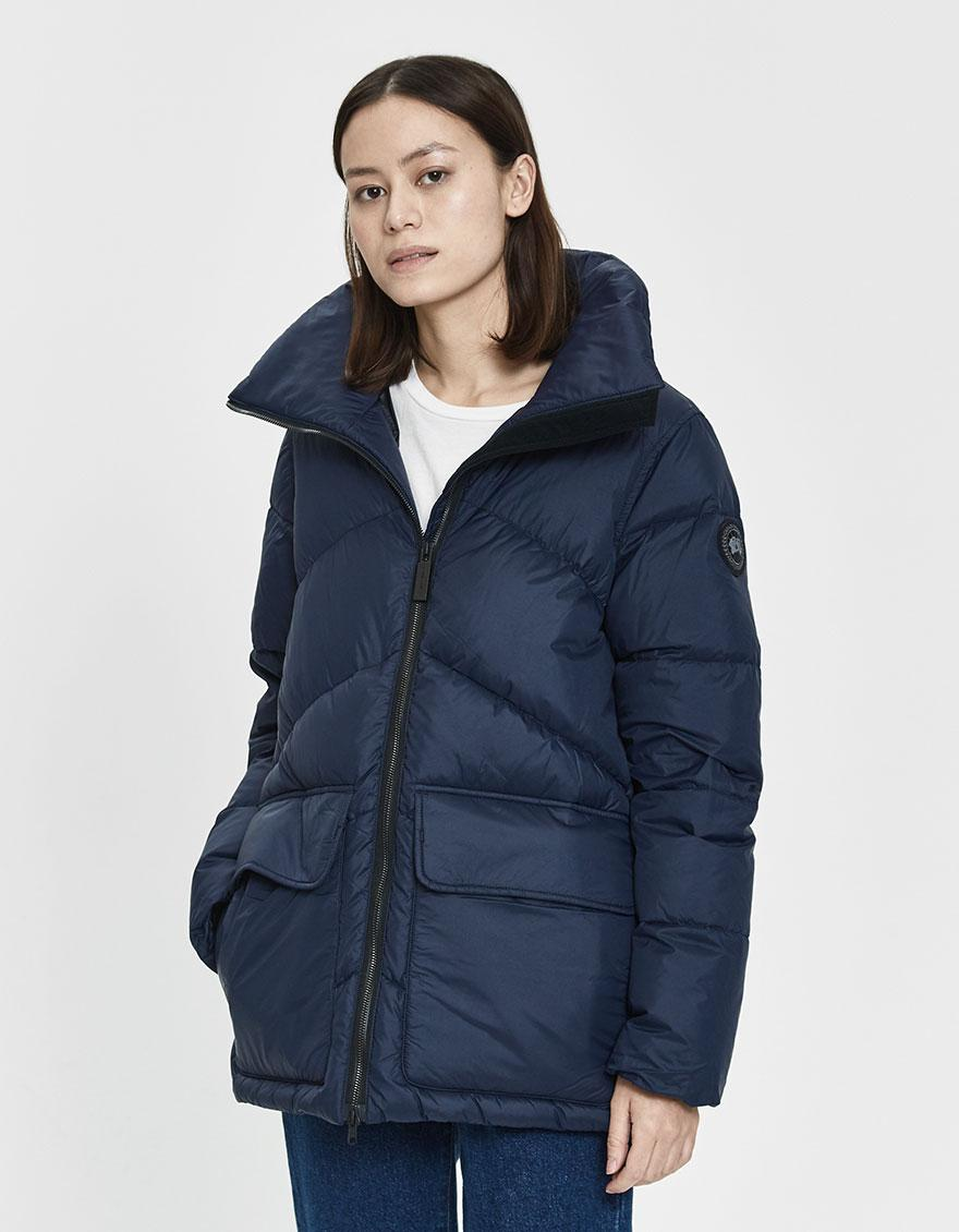 ab373cac36d Lyst - Canada Goose Ockley Short Parka in Blue