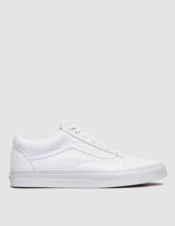 UA OLD SKOOL - Sneaker low - petunia/true white okymTw95