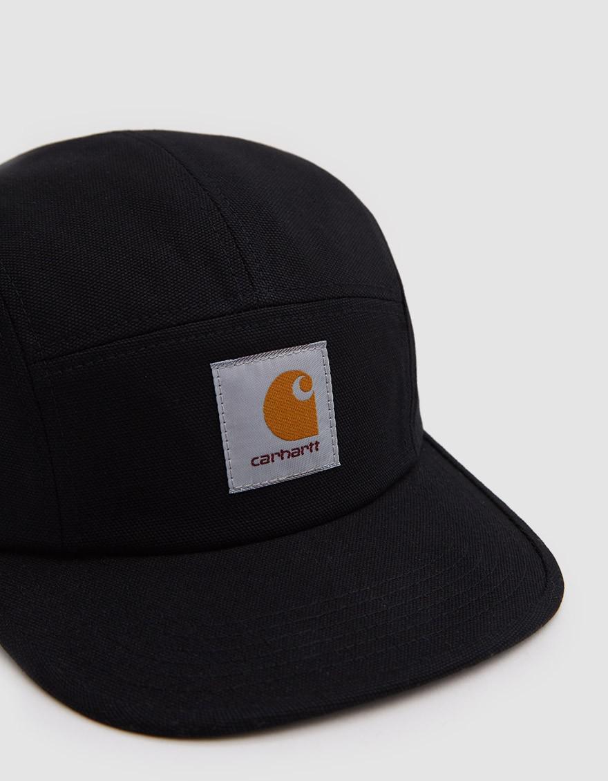 ce9a0e59bf1 Lyst - Carhartt WIP Backley Cap In Black in Black for Men