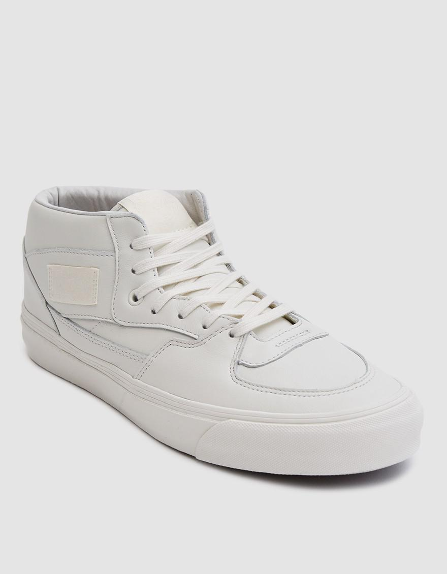 95ec96abc2ba62 ... Lyst - Vans Og Half Cab Lx In Marshmallow in White for Men ...
