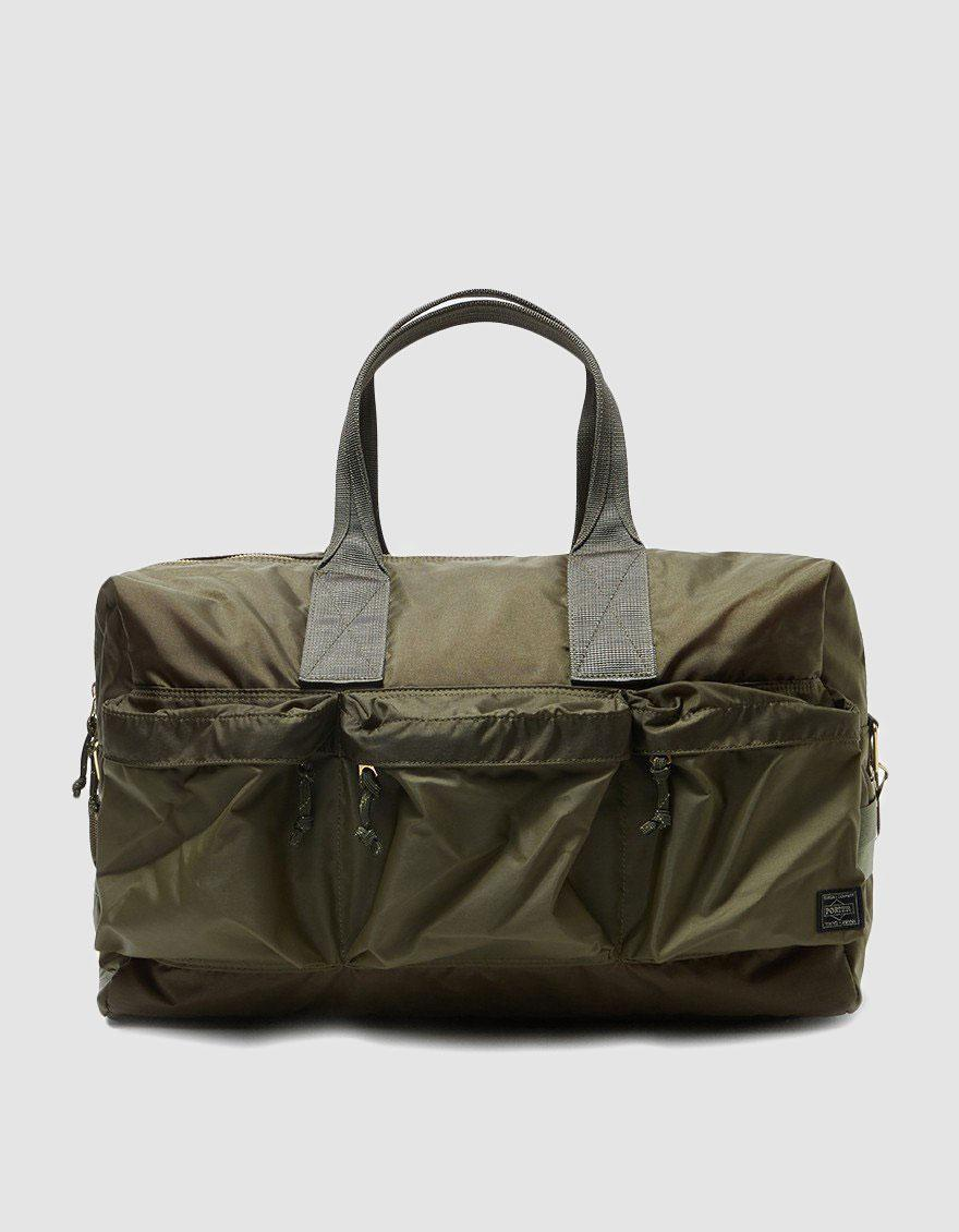 d73b87db86f4 Lyst - Porter Force 2way Duffle Bag in Green for Men - Save 33%