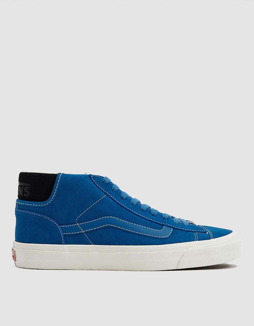 e28632f63e Lyst - Vans Og Mid Skool Lx Suede Sneaker in Blue for Men