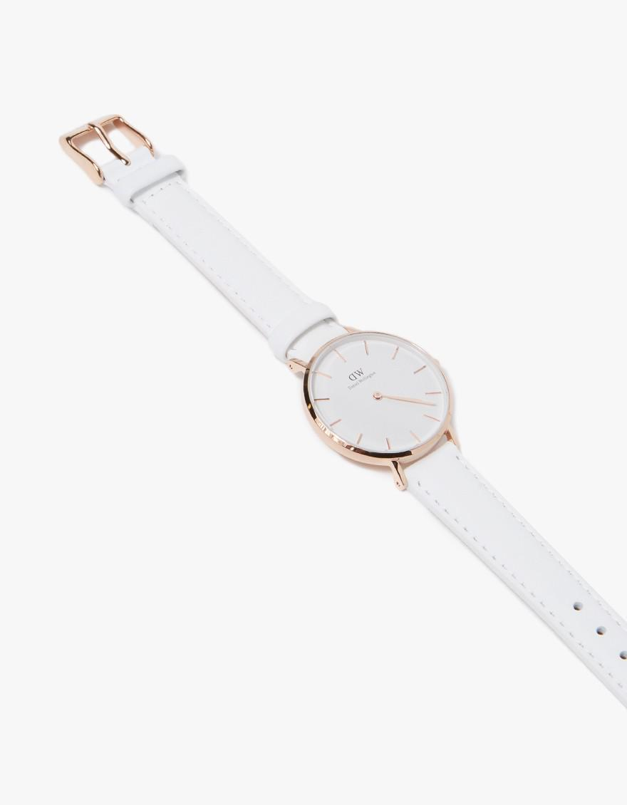 8a200f6a09b3 Lyst - Daniel Wellington Classic Petite Bondi In 32mm Rose Gold ...