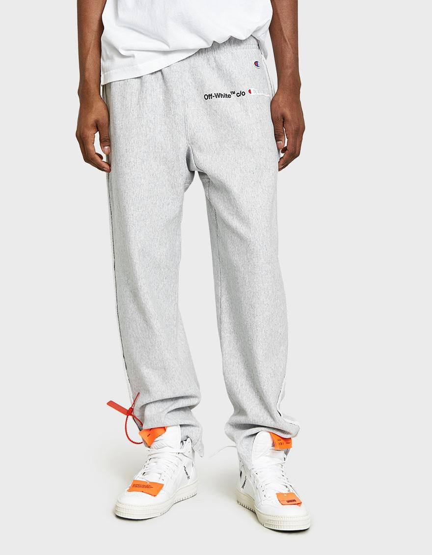 Buy Cheap Nicekicks Cheap With Mastercard Champion Sweatpant in Gray Off-white 7QZFf