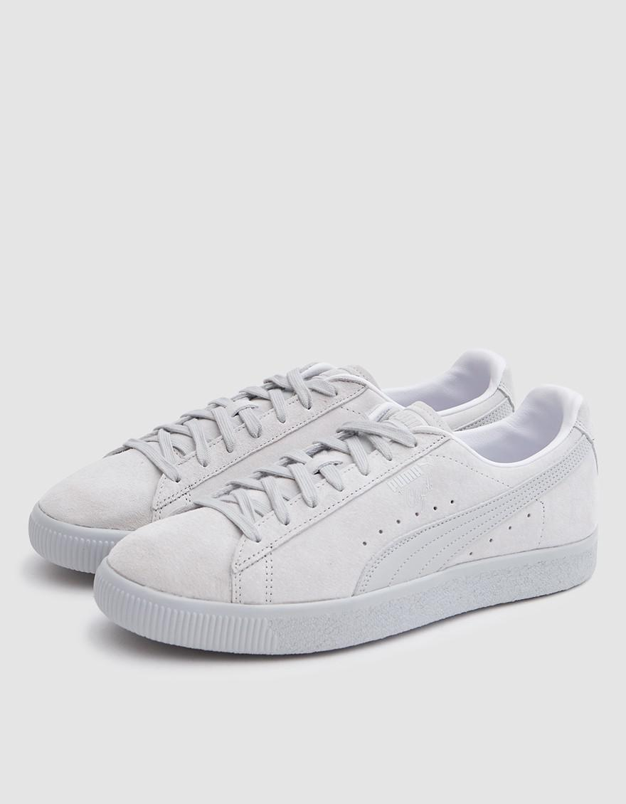 aaa2a27b7c2 PUMA Clyde Normcore in Gray for Men - Lyst