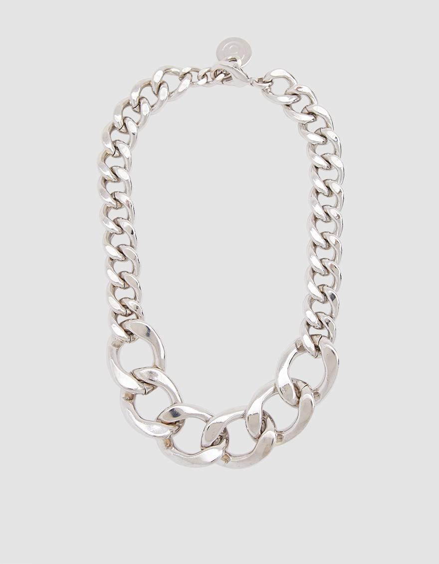 Maison Martin Margiela chain necklace - Metallic