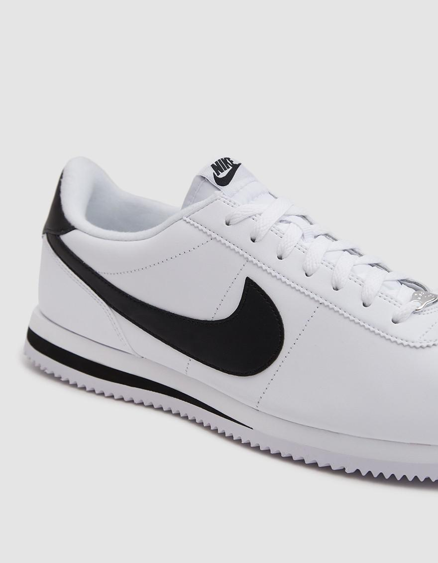 Mens Cortez Basic Se Low-Top Sneakers, Grey (Gunsmoke/Black-Sail 002), 6 UK Nike