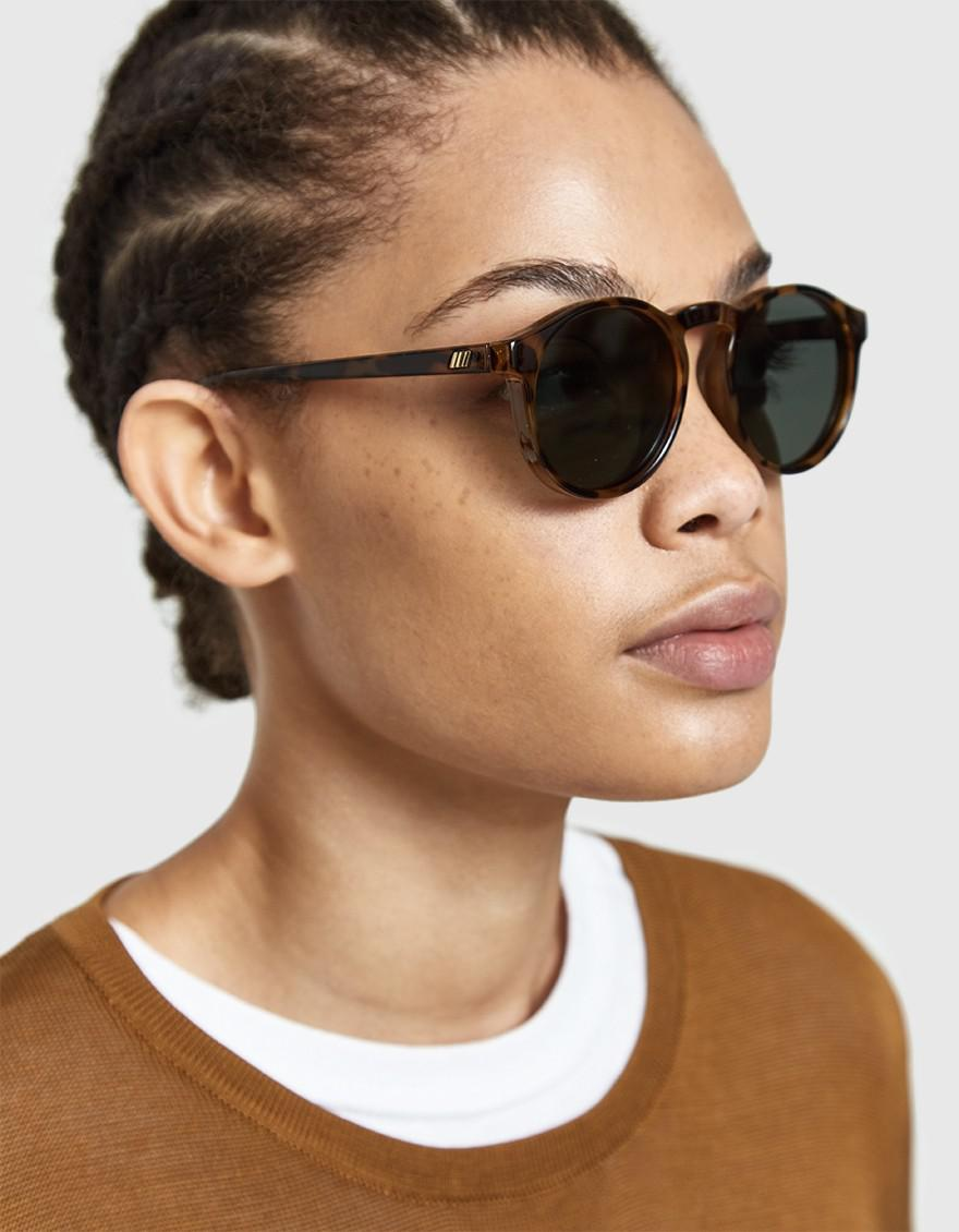 8ef0aa329c7 Le Specs Cubanos Sunglasses in Brown - Lyst
