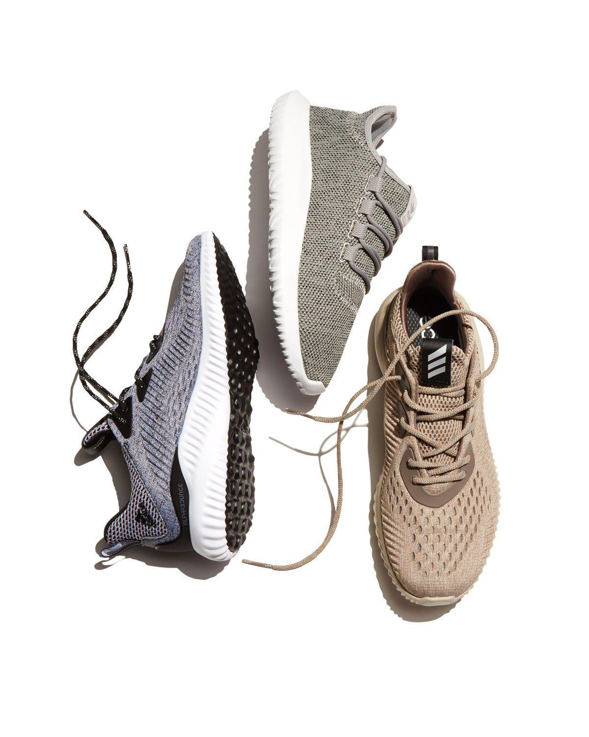 dad6e6916 Lyst - adidas Originals Alphabounce Engineered Mesh Sneaker in Brown