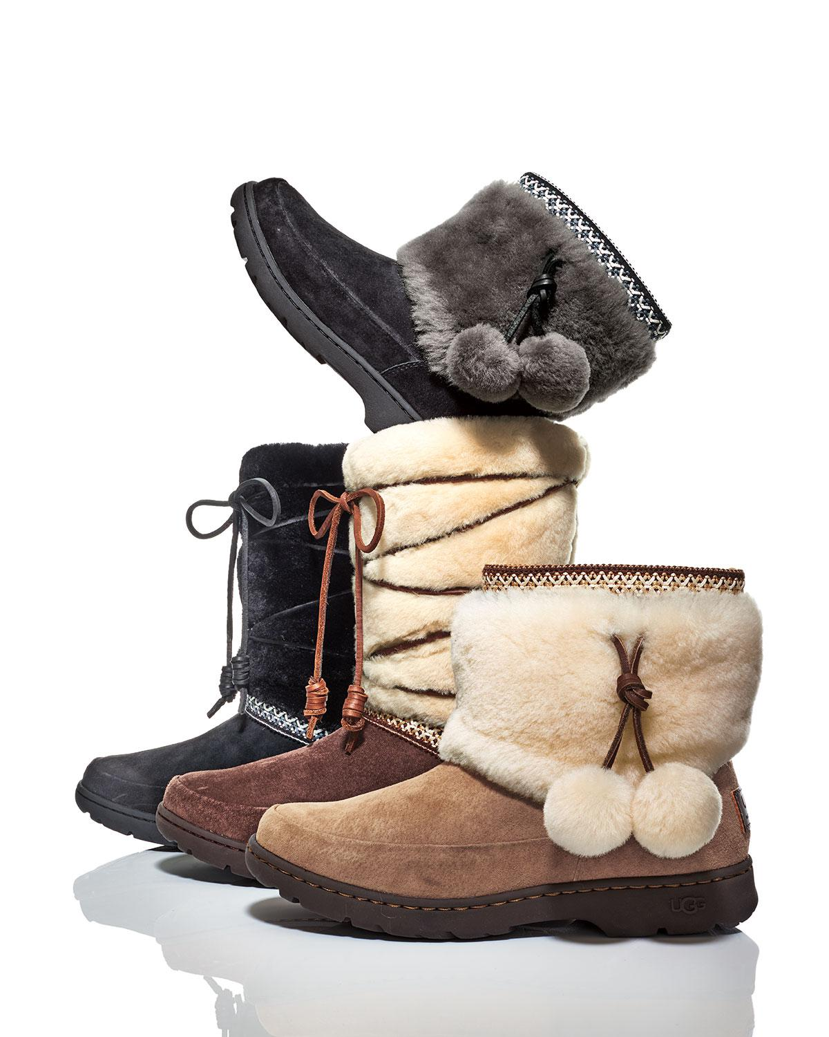 f1664a951001 Lyst - UGG Maxie Lace-up Weatherproof Boot in Brown