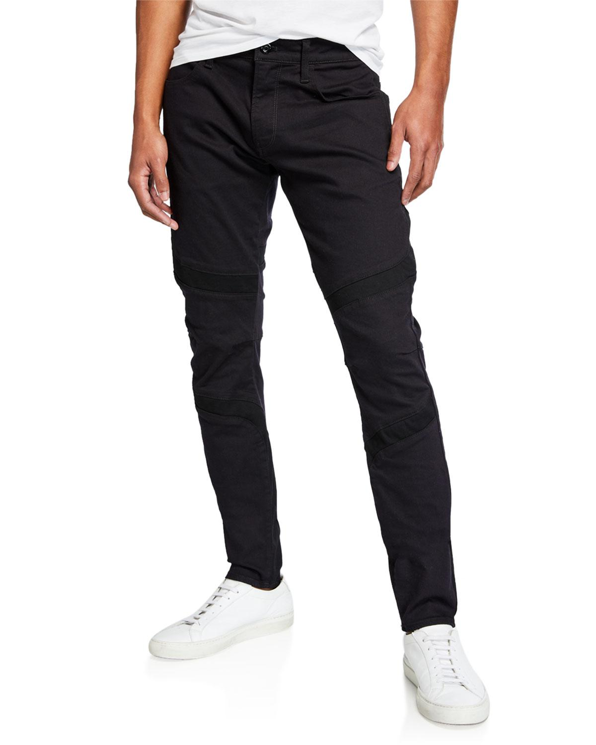 50097aea7ff7d Lyst - G-Star Raw Men s Skinny-fit Motoc Dc Denim Jeans in Black for Men