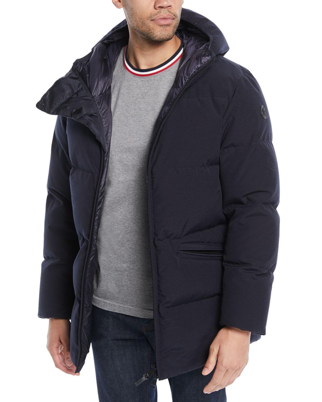 92cfbac717ef Lyst - Moncler Men s Montsouris Puffer Jacket in Black for Men