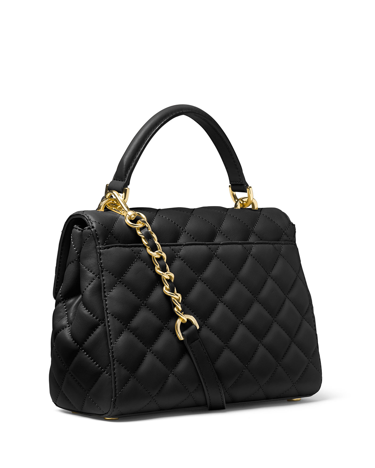 21930836aef1 Michael Kors Black Quilted Leather Bag | Stanford Center for ...