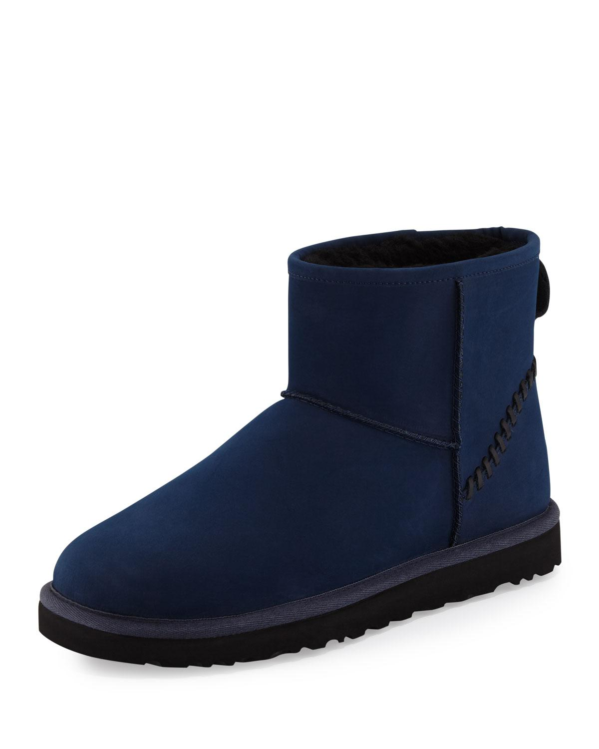 blue male uggs
