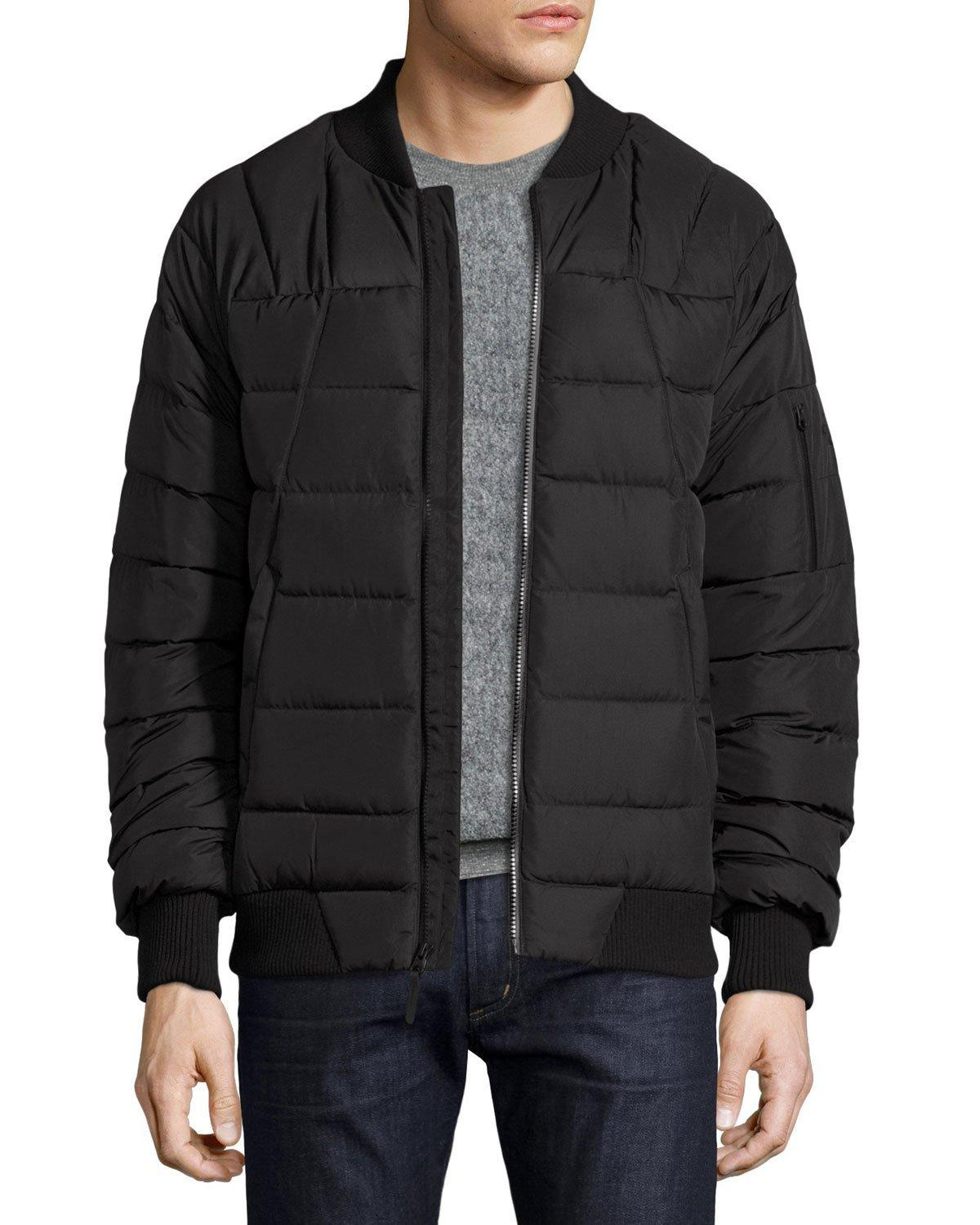 Lyst The North Face Kanatak Bomber Jacket In Black For Men