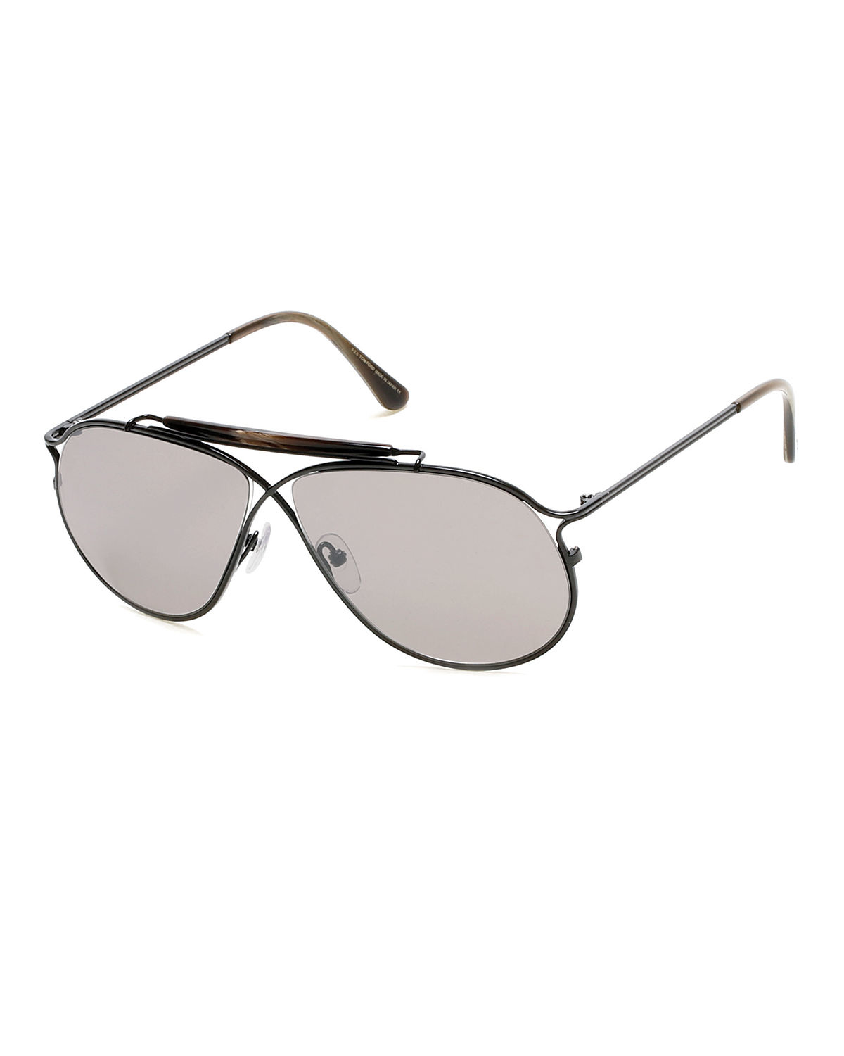 Tom ford Tom N.6 Private Collection Titanium Sunglasses in ...