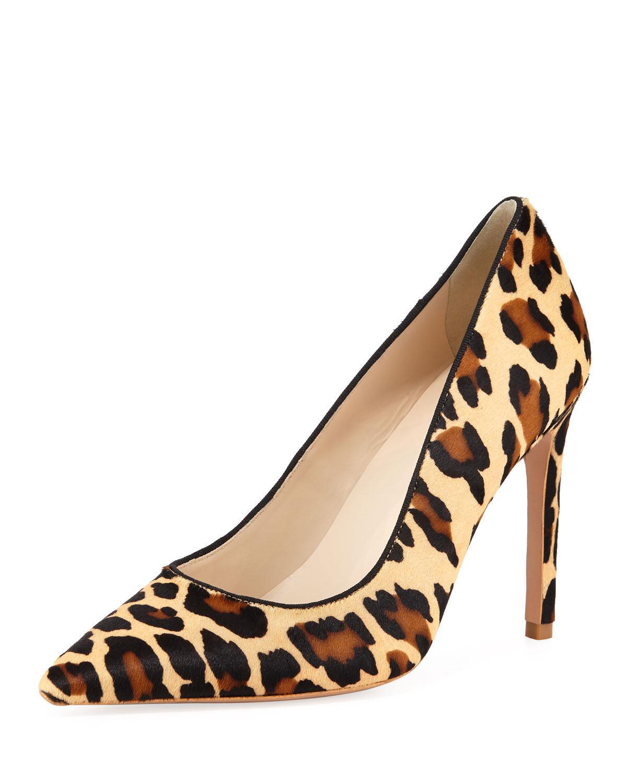 920ada9527e Sophia Webster. Women s Natural Rio Leopard Animal-print High-heel Pumps