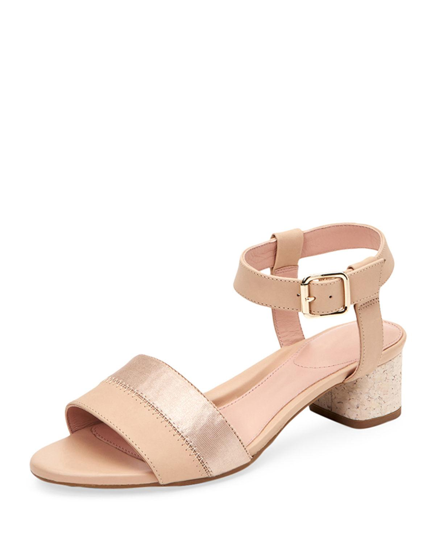 b2689a52db03 Lyst - Taryn Rose Makena Block-heel Sandals