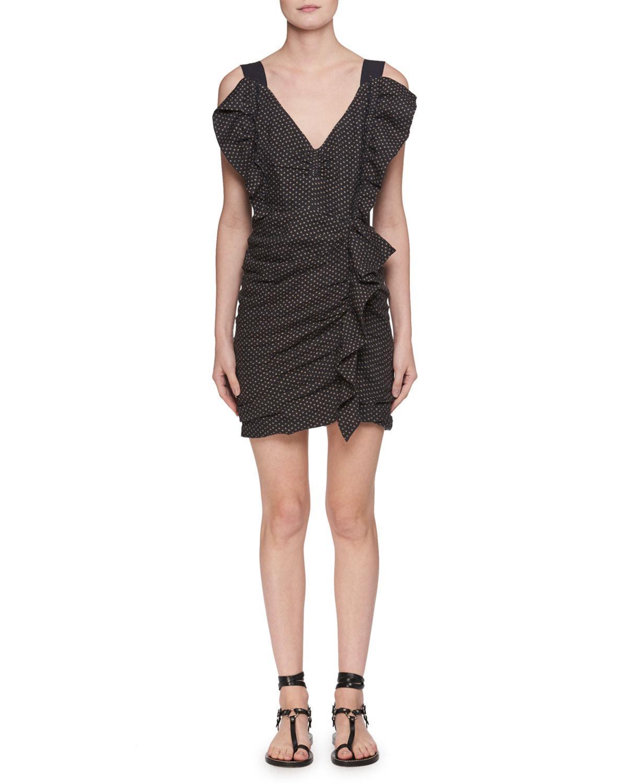 Buy Cheap Manchester Official Cheap Online Black Topaz dress Isabel Marant 1KmLjFm